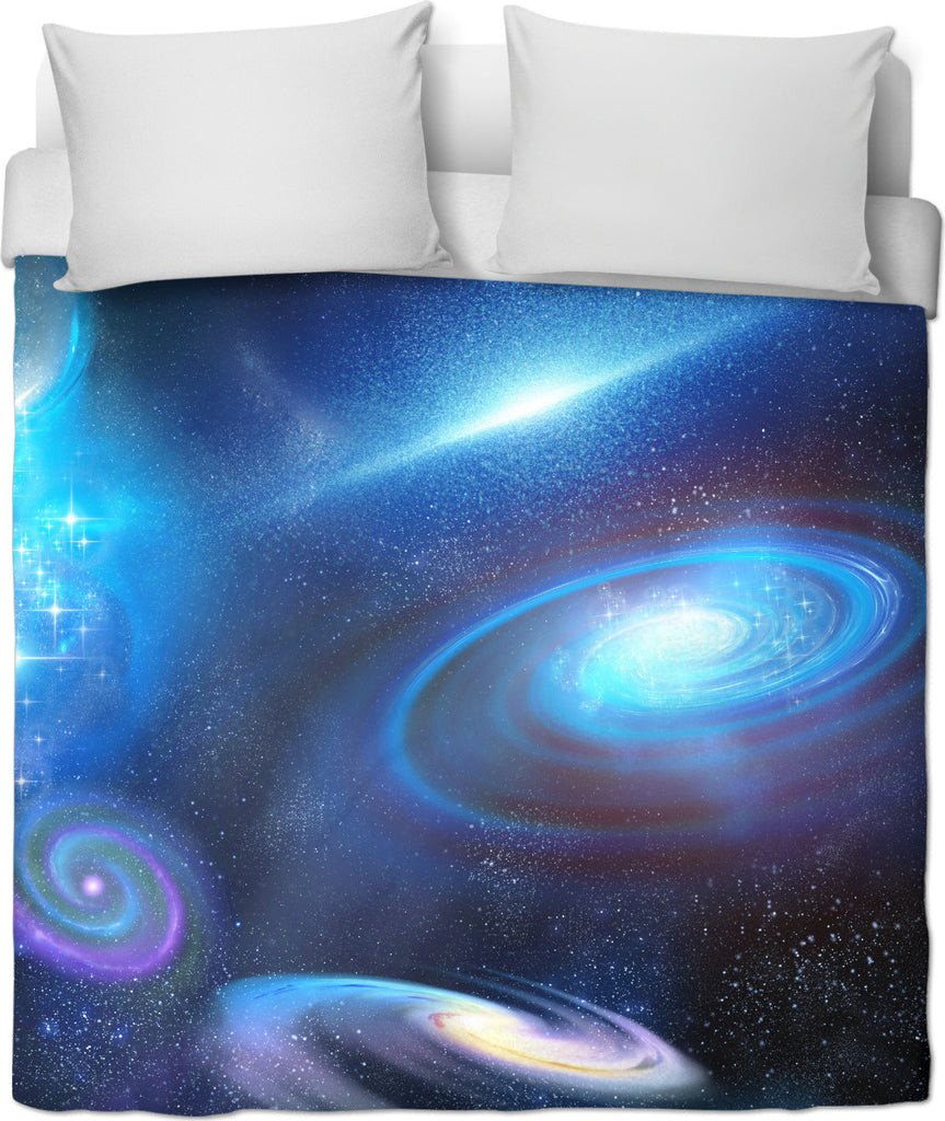 Galactic Infinity Duvet Cover