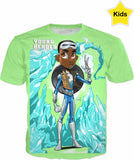Young Heroes: Unlimited (Limited Edition Kids Shirts)- Frozone