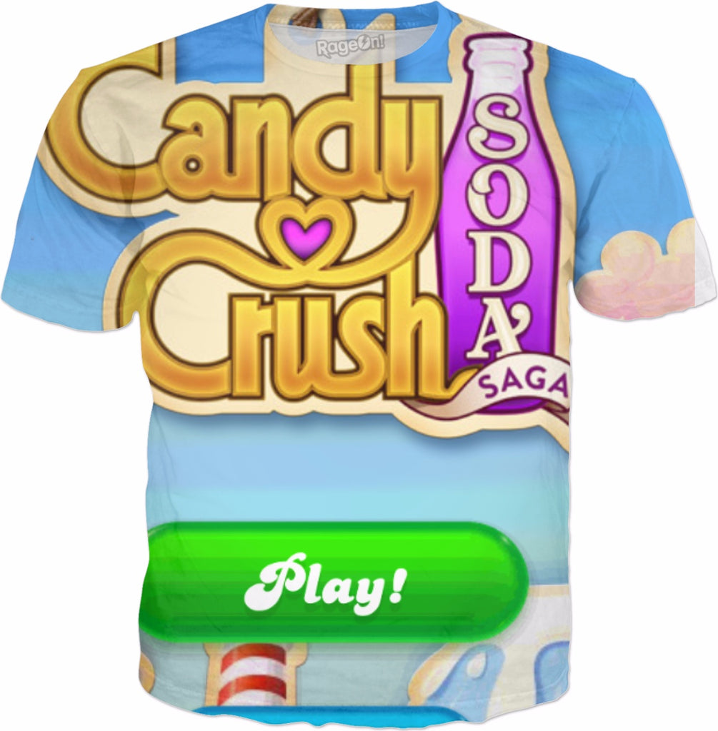 Free Shipping Pre Cut  One Inch CANDY CRUSH  Images