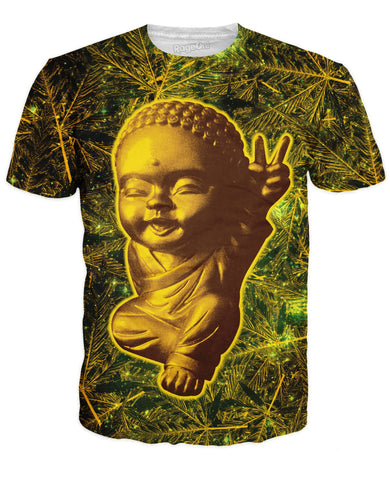 Stay Gold 420 Buddha T-Shirt