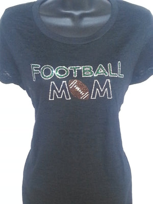 Football Mom BURNOUT Shirt