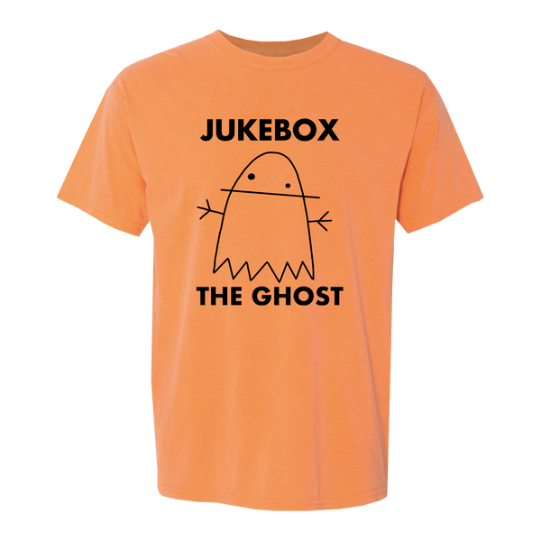 Black Ghostie Logo Orange Tee