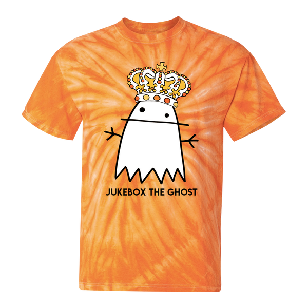 Orange Tie Dye HalloQueen Ghostie Tee