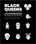 Black Queens | Livre à colorier