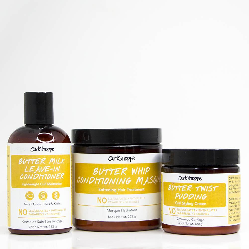 Butter'd Up | Trio hydratant