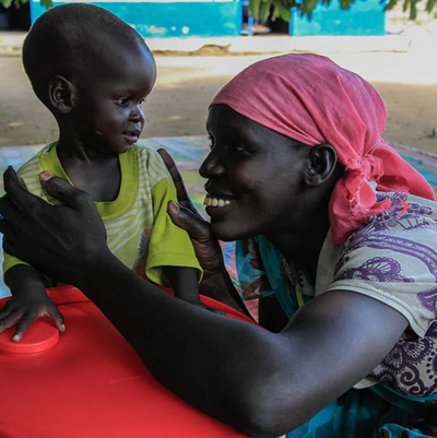 Meet 1 year old Atong | South Sudan