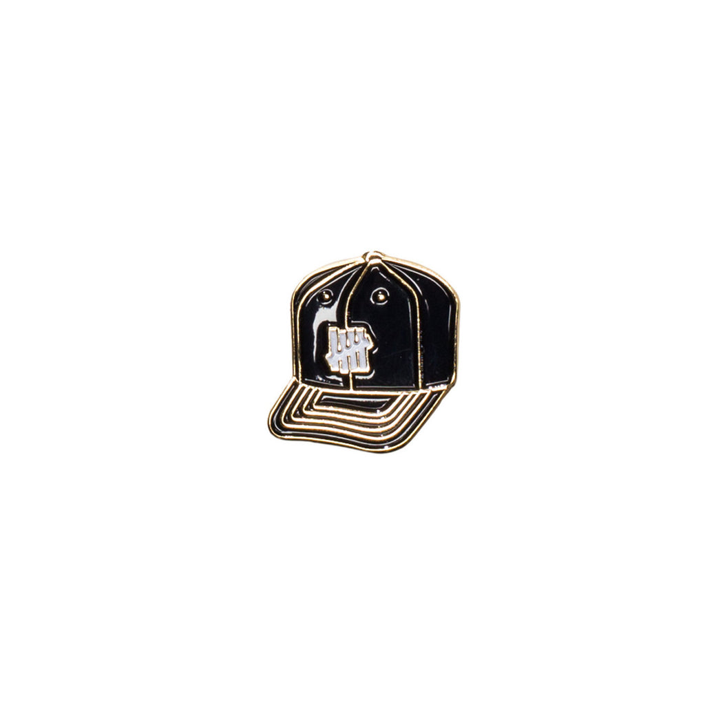 Undefeated 5 Strike Cap Pin