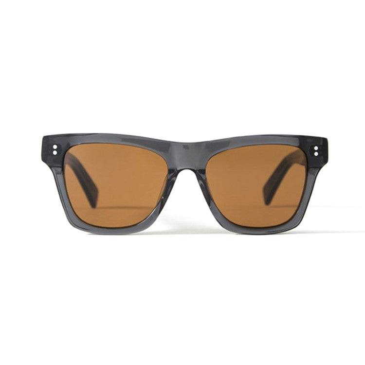 Stussy Norton Dark Grey/ Brown Sunglasses