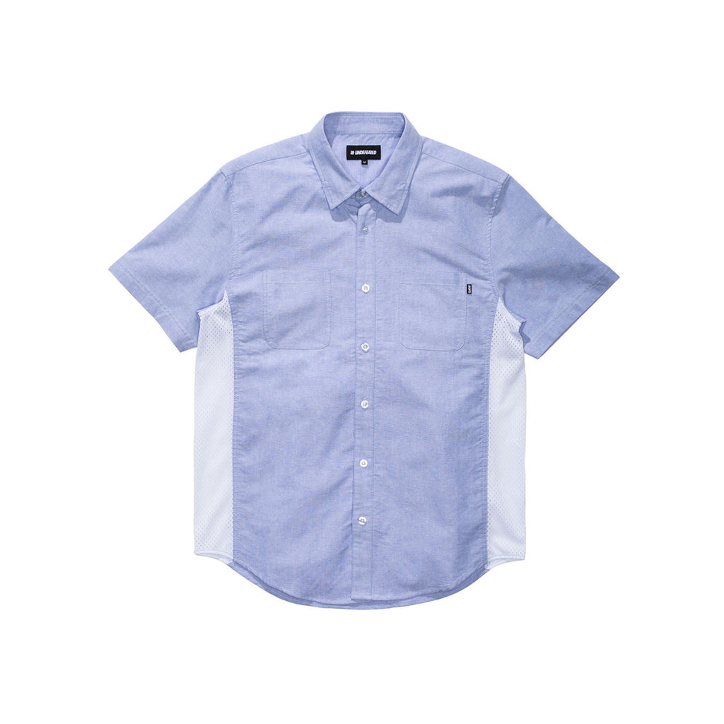 Undefeated Mesh Contrast Button Up Shirt