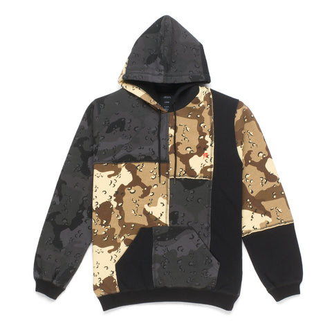10 Deep Day and Night Pieced Hoodie