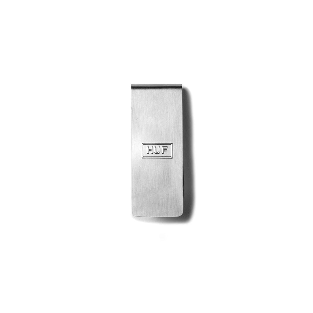 HUF money clip-100% STAINLESS STEEL-Color: Silver