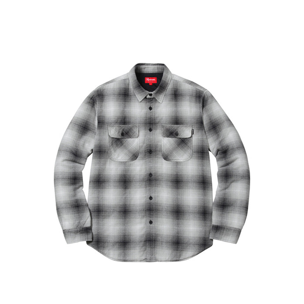 Supreme Quilted Shadow Plaid Shirt