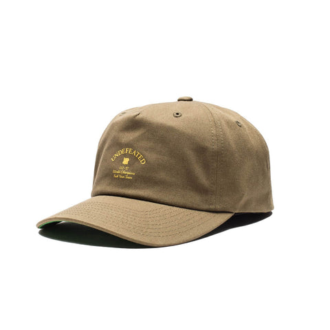 Undefeated Champions Strapback Cap Olive