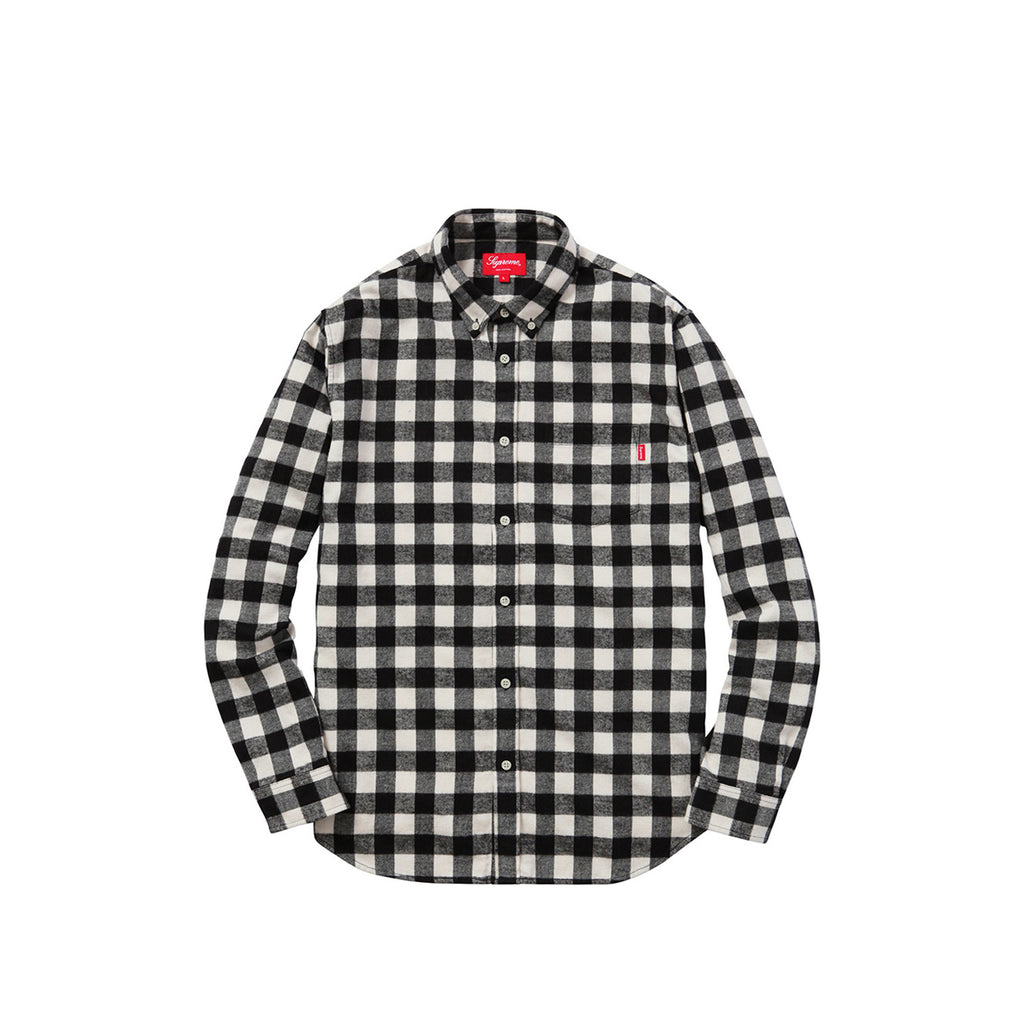 Supreme Checker Plaid Flannel Shirt