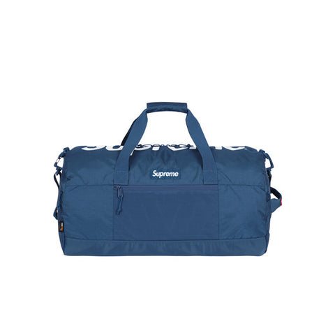 Supreme Duffle Bag by SUPREME.  Color: Teal