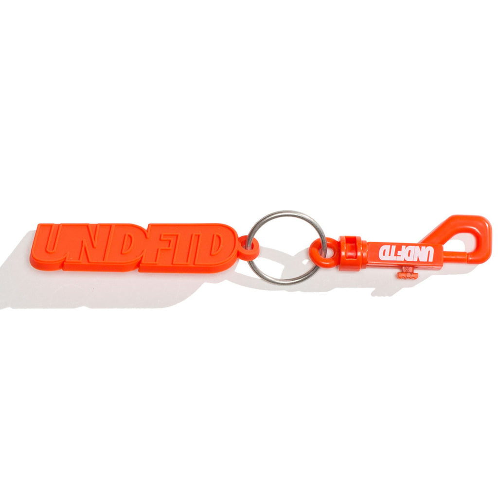Undefeated Rubber Keychain