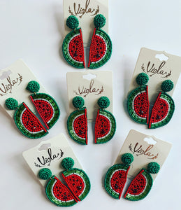 One-In-A-Melon Earrings
