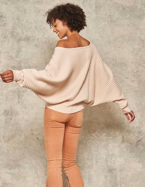 Cream Dolman Sweater