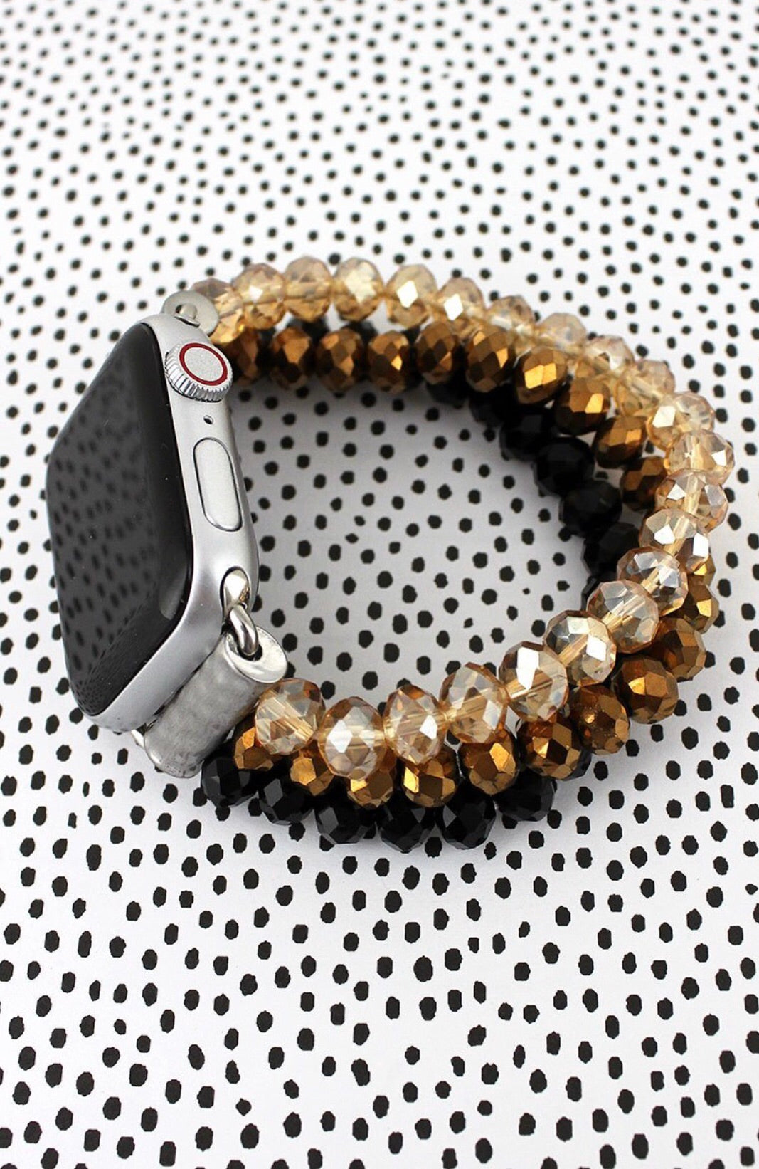 Crystal Apple Watch Band-SAINTS!