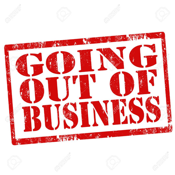 Going Out Of Business!!