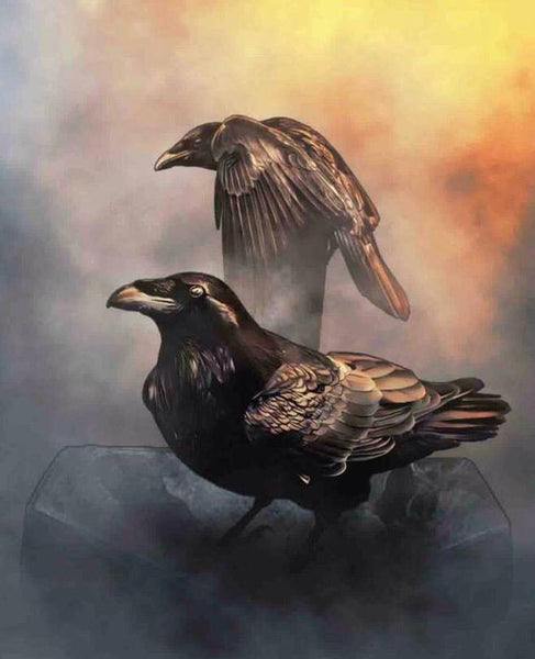 How Ravens Came To Be Black by Michaela Macha