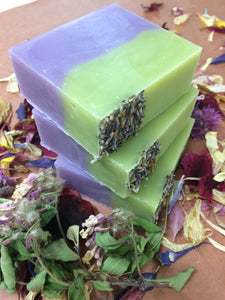 Handmade Soap - Lavender Sage - Bar Soap - Valhalla Soap Co.
