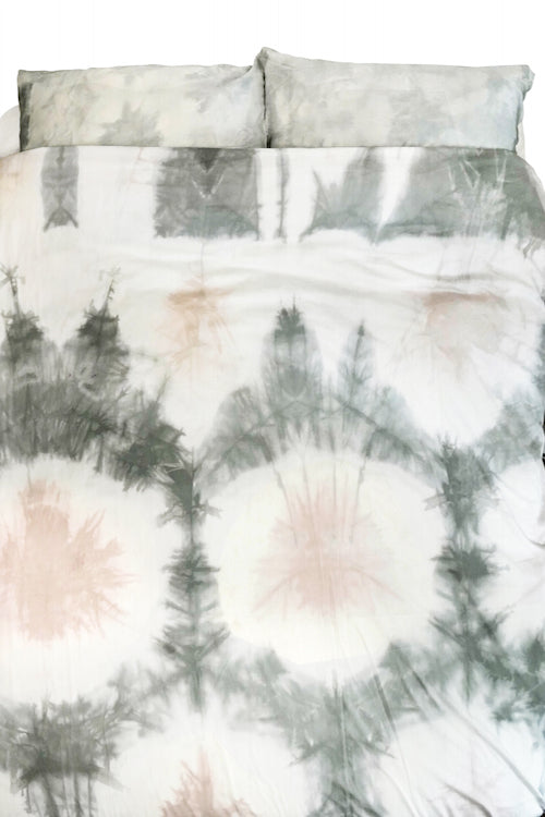 Hand Dyed Cotton Duvet