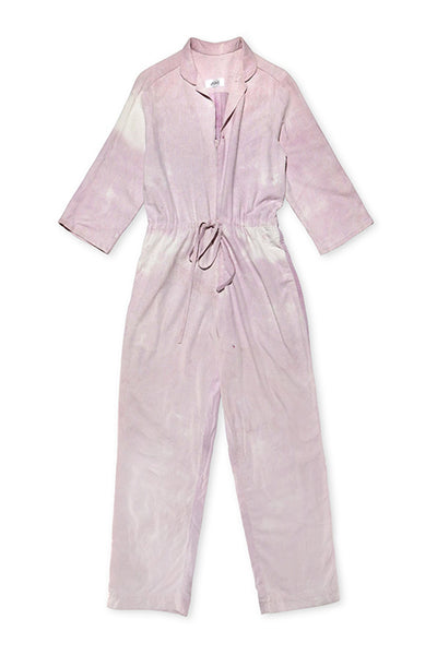 Magpie Jumpsuit in Rose