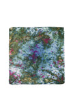 Silk Square Scarf in Garden Party