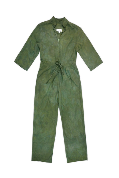 Magpie Jumpsuit In Moss