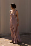 Palm Dress In Mauve