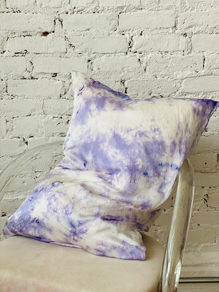 Silk Pillows in Lavender