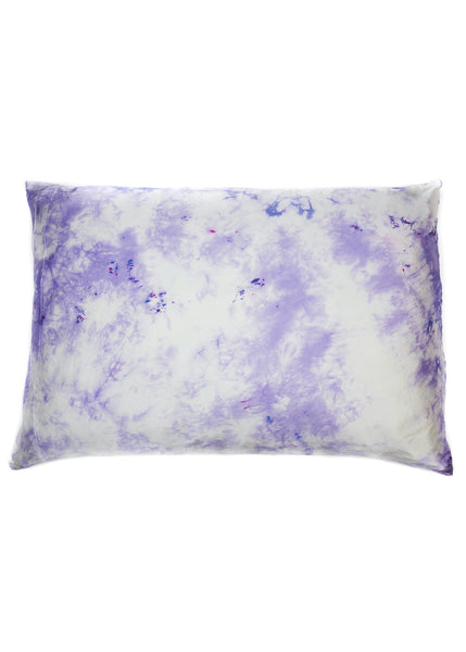 Silk Pillows in Purple Rain