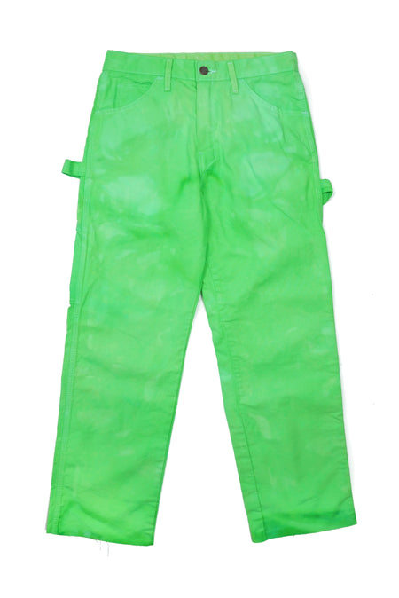 Dyed Dickies Pants in Beach Boy