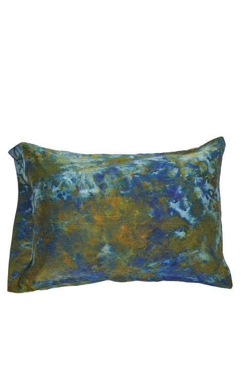 Peacock Silk Pillowcase