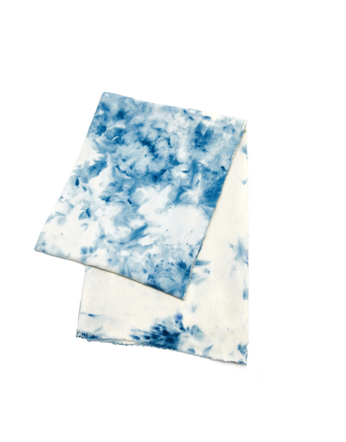 Raw Silk Beach Throw in Splash