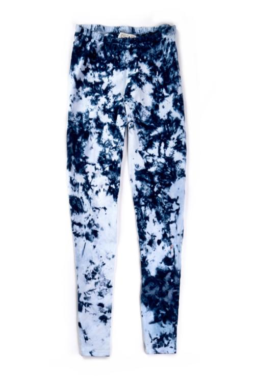 Leggings in Indigo Particle