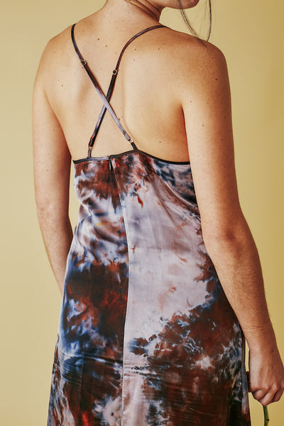 Fiona Slip Dress In Penny