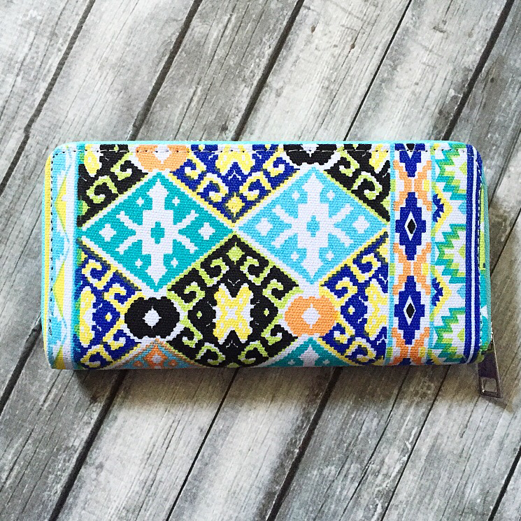 Aztec In Many Colors Wallet