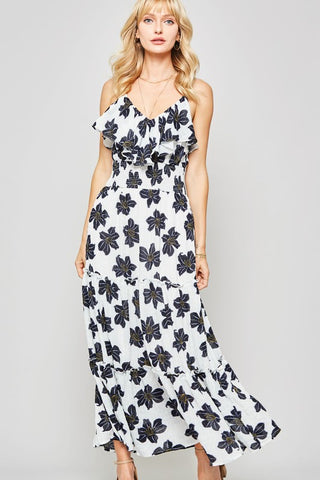 Island Brunch Maxi Dress