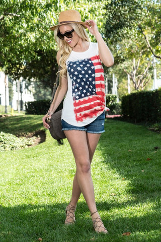 Land Of The Free Tunic Tank