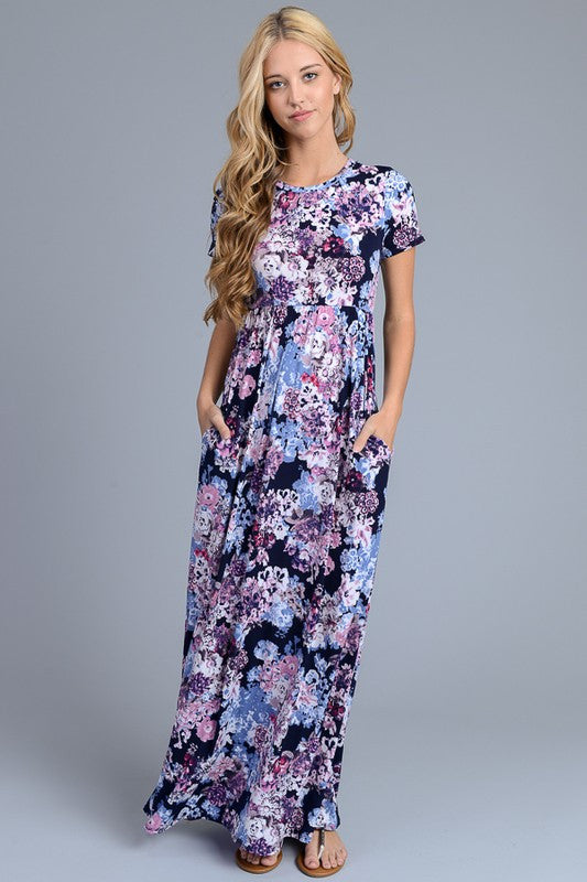 Secret Garden Maxi Dress - Collette