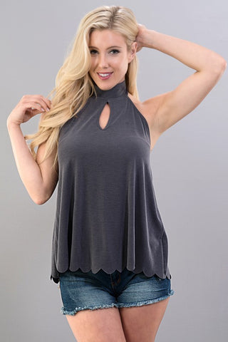 Beautifully Scalloped Top