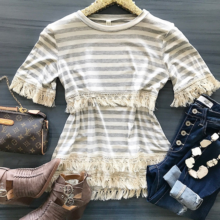 On The Fringe Top