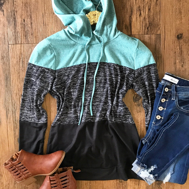 Why Not Fall In Love Hoodie Top