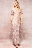 Romantic Lace Maxi Dress - Collette's Closet Boutique