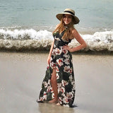 Don't Think Twice Maxi Romper - Collette's Closet Boutique