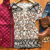 Boho Babe Top - Collette's Closet Boutique