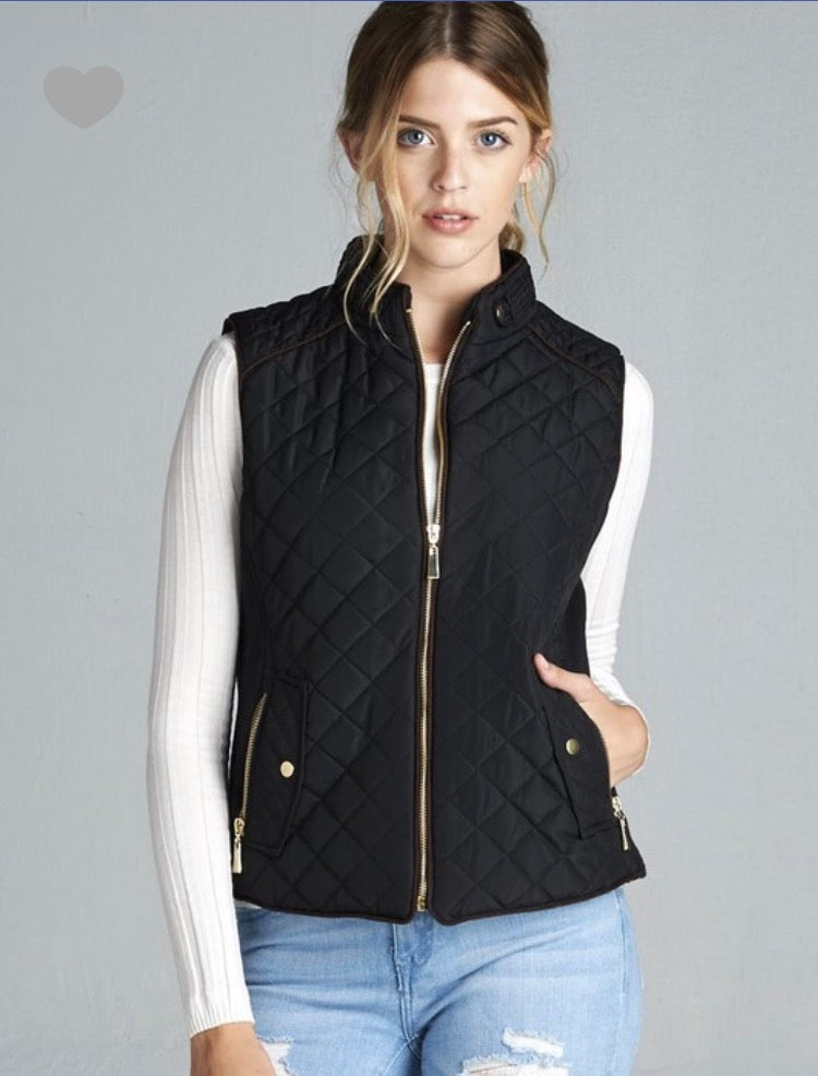 Walking Downtown Vest - Black