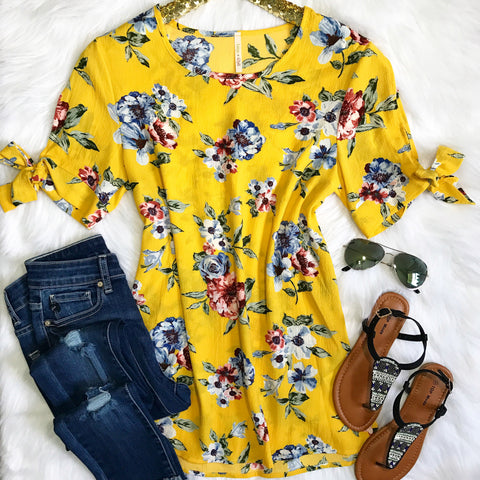 Sunny Days Tunic Top